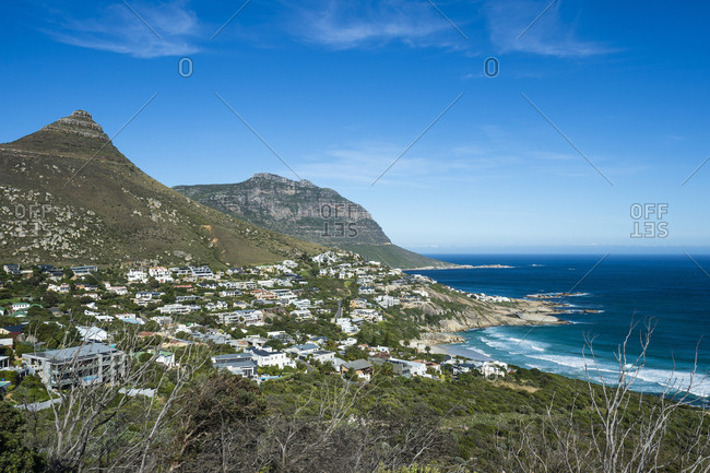 View over Llandudno, Cape of Good Hope, South Africa, Africa