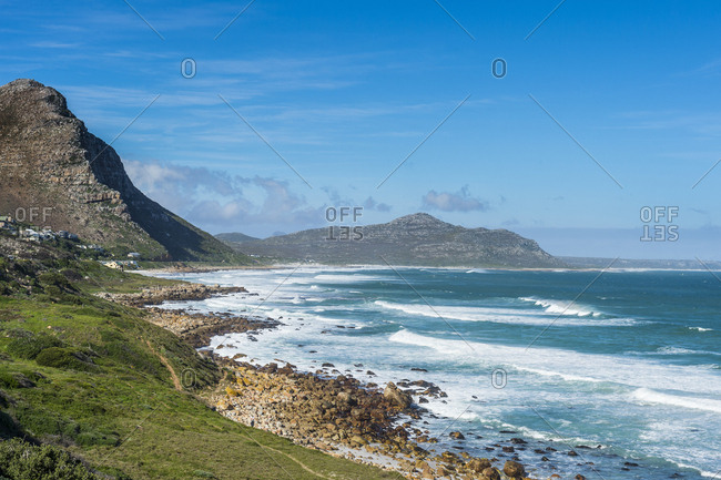 View over the bay leading to Cape of Good Hope, South Africa, Africa