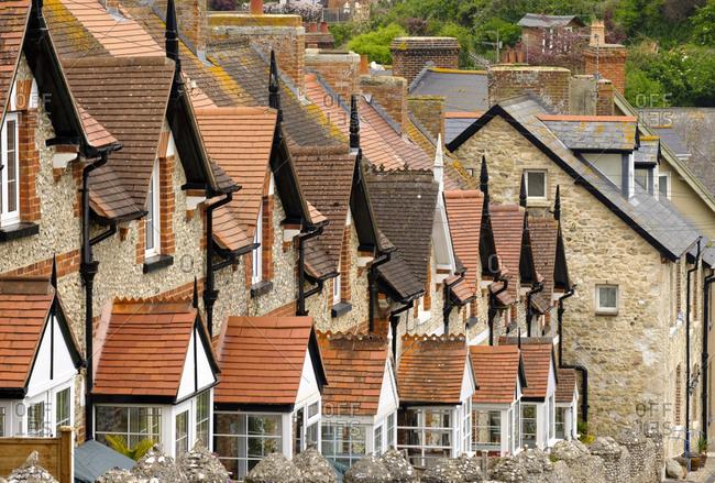 UK- Beer- row of terraced houses