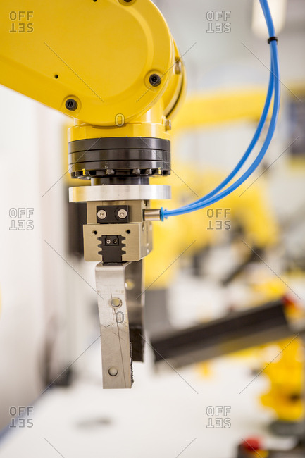 Detail of industrial robot