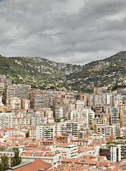 City rooftops, Monte Carlo, Monaco