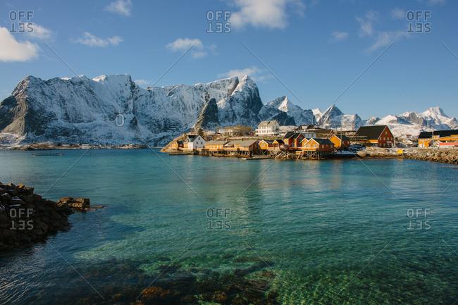 Cod fishing village, Lofoten, Norway