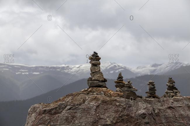 Marnyi stone in Tibet, China