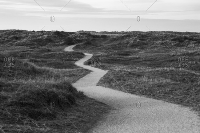A way in the dunes of Ameland