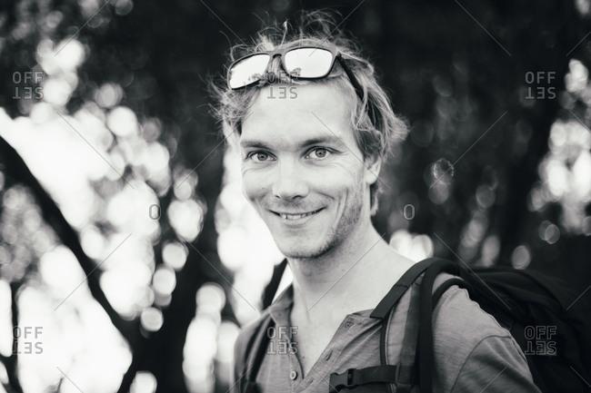 Portrait of a hiker