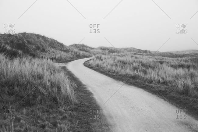 A way on Ameland island
