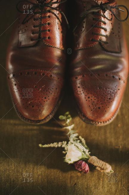 Still-life at an alternative wedding