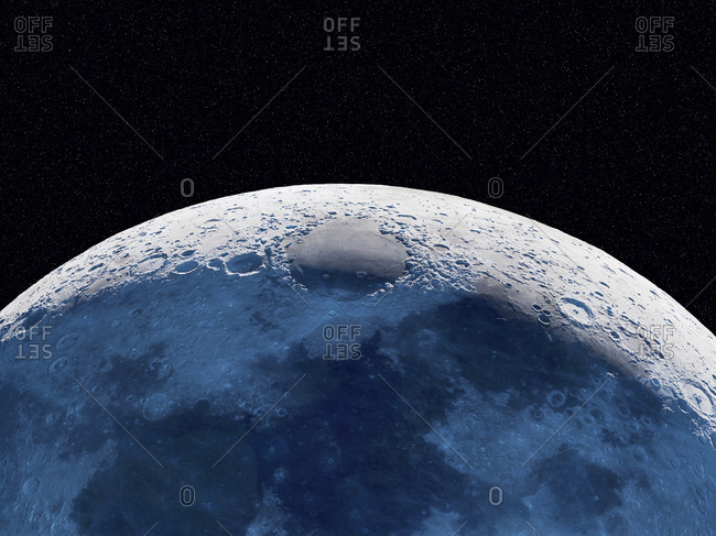 Moon, illustration