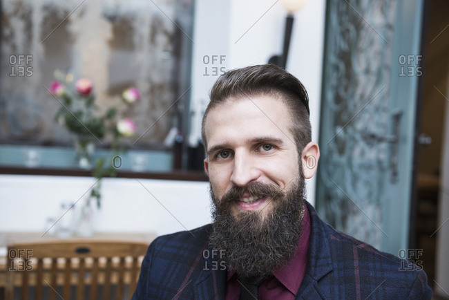 Close-up portrait of well-dressed businessman