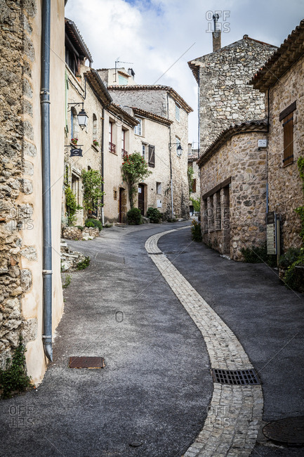 Village street in Provence