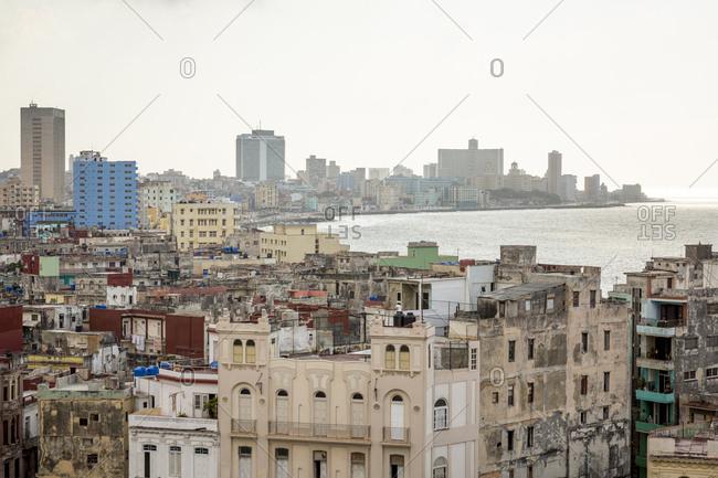 Havana, Cuba - May 2, 2016: View over the city