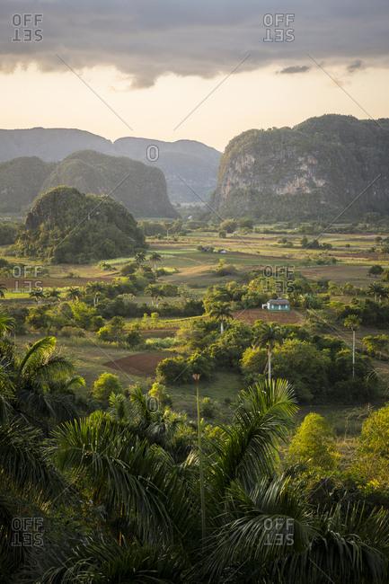 Rural landscape in Vinales, Cuba