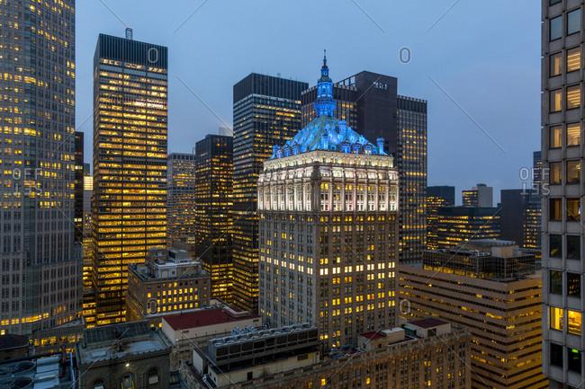 A view of Midtown Manhattan
