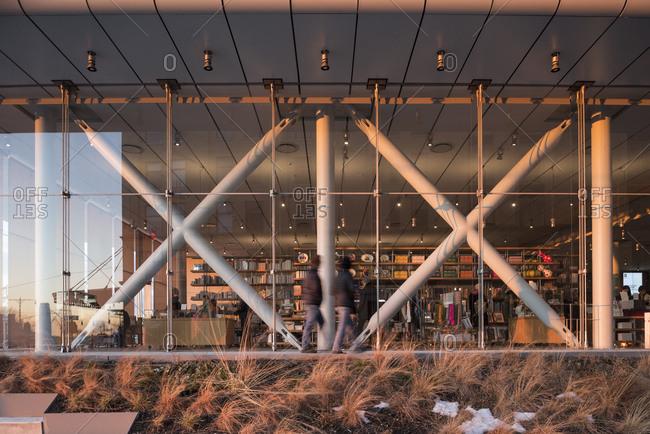 New York, New York - January 27, 2016: The Whitney Museum of American Art