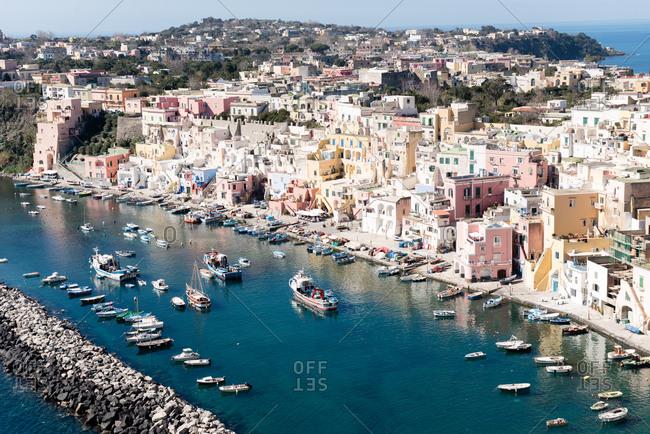 Harbor of Procida, Italy