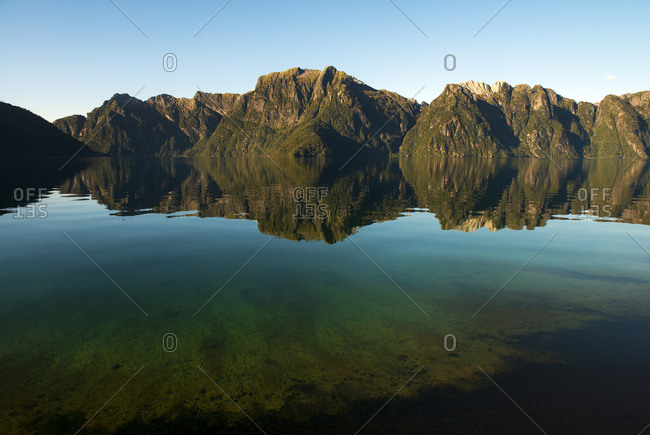 View of Lago Corcovado, Patagonia, Chile