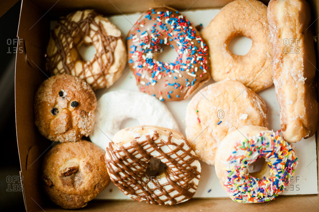 Donut varieties in a box
