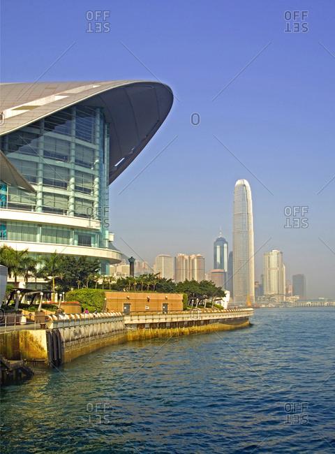 Hong Kong, China - May 7, 2007: Hong Kong's business district