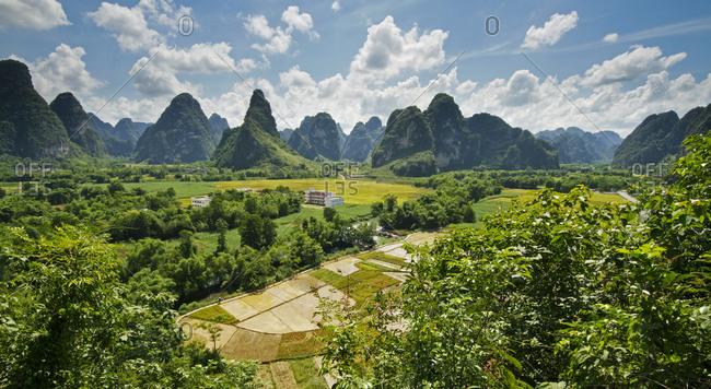 Ming Shi pastoral in Guangxi, China