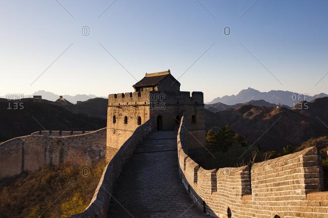Jinshanling of the Great Wall in Beijing