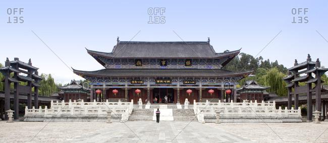 Exterior of Mu's Residence in Lijiang, China