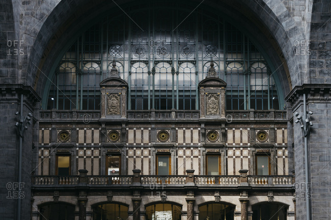 Interior of the Antwerp Central Station