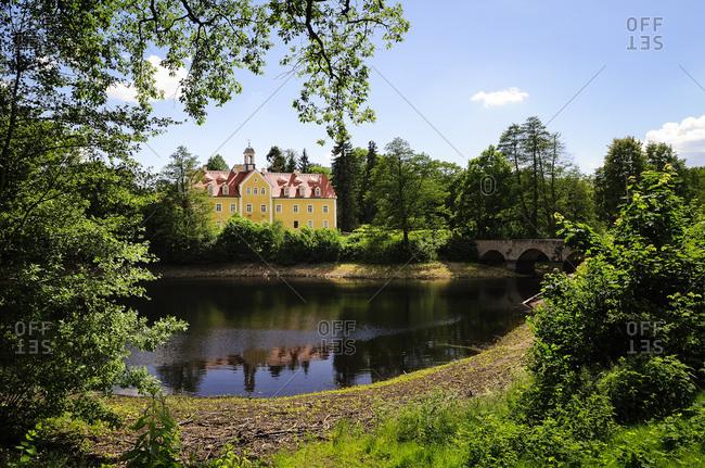 Germany- Saxony- Grillenburg hunting lodge