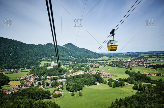 Germany- Chiemgau- Kampenwandbahn cable car