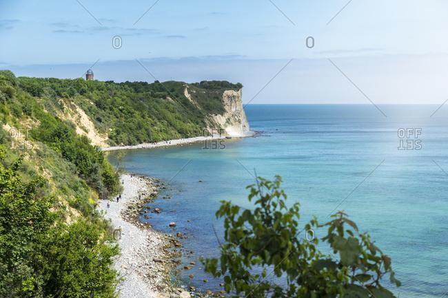 Germany- Mecklenburg-Western Pomerania- Ruegen Island- Cape Arkona with positioning tower