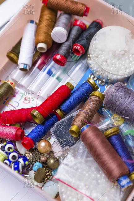 Equipment of fashion designer
