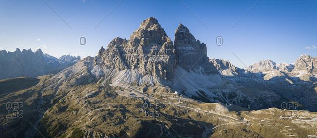 Italy- Alto Adige- Dolomites- Tre Cime di Lavaredo