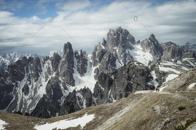 Italy- Alto Adige- Dolomites- Cardini Group