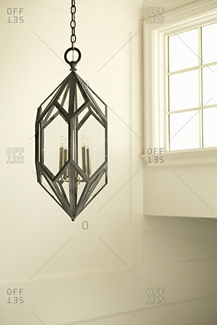 Hanging modern light fixture