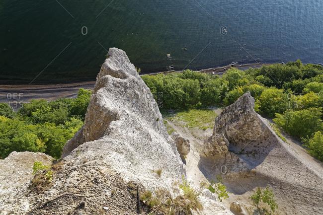Germany- Mecklenburg-Western Pomerania- Jasmund National park- View from Viktoriasicht
