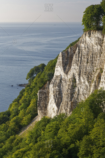 Germany- Mecklenburg-Western Pomerania- Rugen- Chalk Rocks at the coast