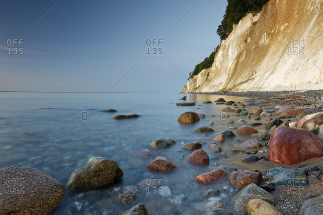 Germany- Mecklenburg-Western Pomerania- Jasmund National Park- Chalk coast at the Baltic Sea