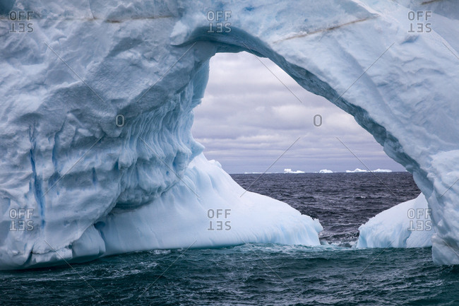 Antarctica, Antarctic Sound, Weddell Sea, Iceberg
