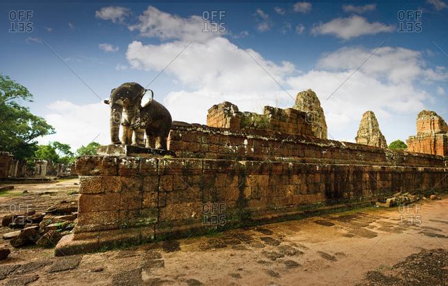 A historic temple building