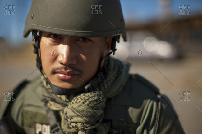 A military police officer