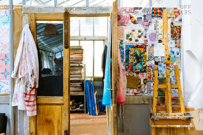 Creative studio, interior