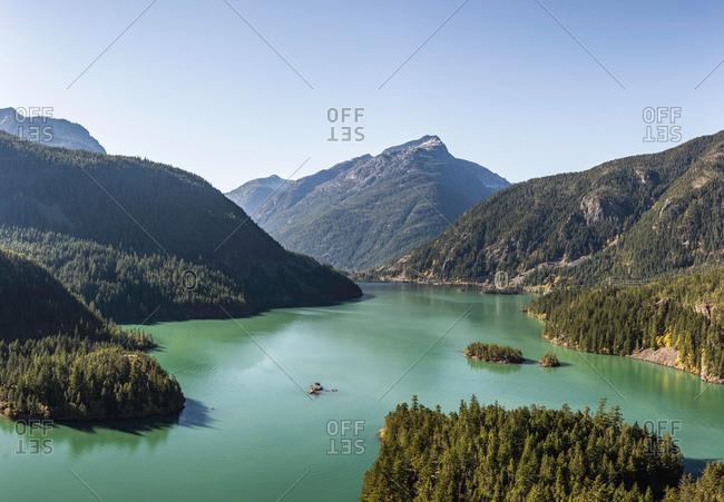 Diablo lake, Diablo, Washington, USA