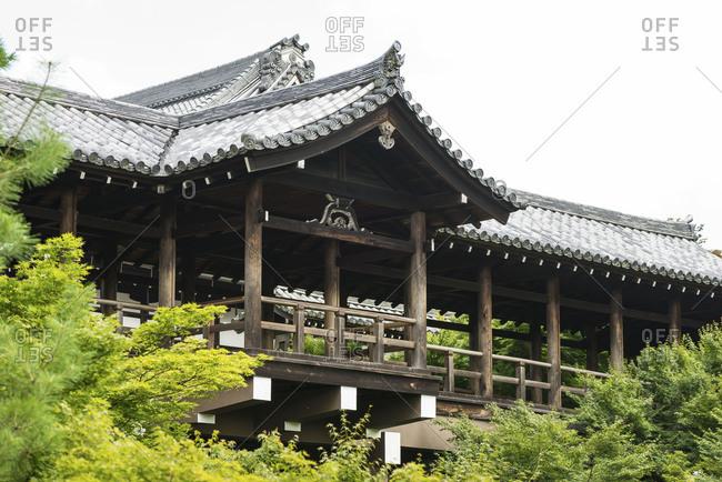 Tsutenkyo bridge of Tofukuji buddhist temple in Kyoto, Japan