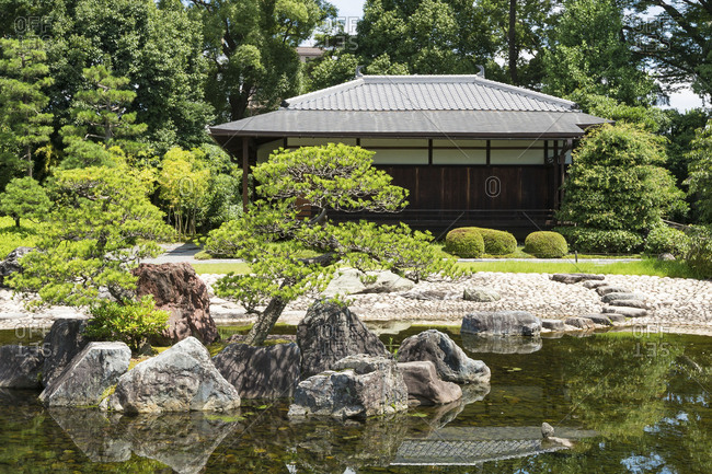 The Seiryuen garden in the Nijo castle, Kyoto