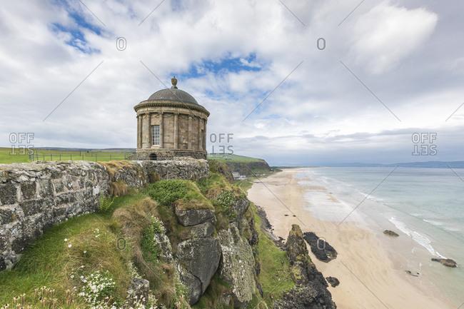Mussenden Temple, Castlerock, County Londonderry, Ulster region, Northern Ireland, United Kingdom, Europe
