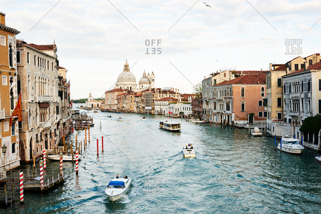 May 1, 2016 - Venice, Italy: View of the Grand Canal