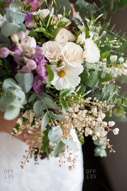 Bridal bouquet of native Australian flowers