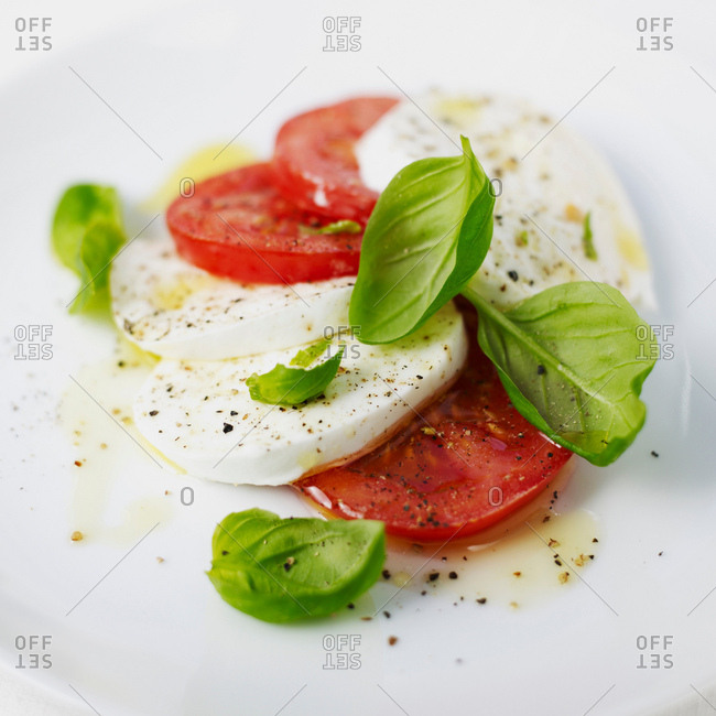 Mozzarella and tomatoes - Offset Collection