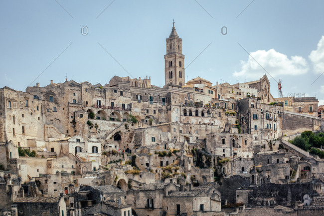 The Sassi and the Park of the Rupestrian Churches of Matera, Italy