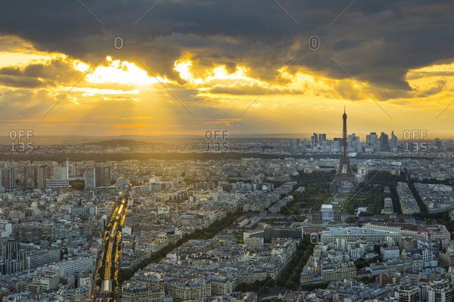 Paris, France - May 20, 2017: Eiffel Tower