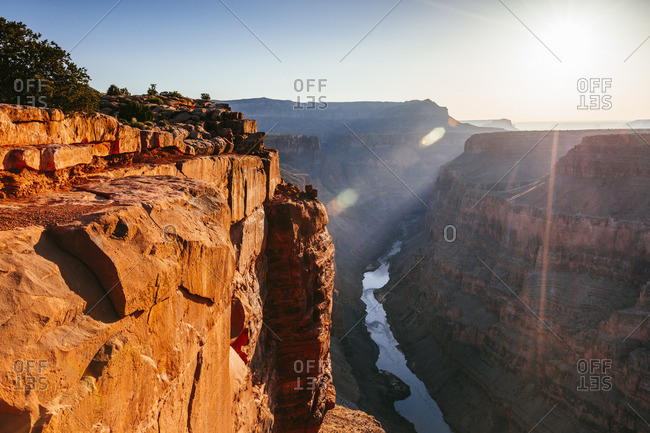 Toroweap overlook, North Rim, Grand Canyon National Park, Arizona, USA